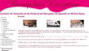 Beaujolais Réception - Location de vaisselle et de matériel de réception