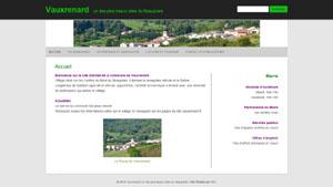 Mairie de la Commune de Vauxrenard dans le Rhône - RIEL