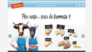 Pas sage – Pas de Fromage – Rhône-Alpes Gourmand - RIEL